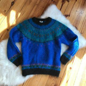 Gorgeous Icelandic Design Wool Sweater S/M